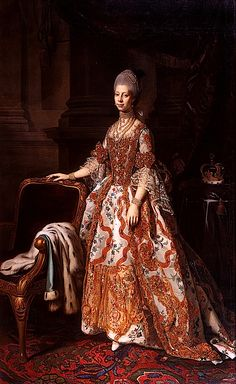 Queen Charlotte was married to King George III.  They had 15 children.