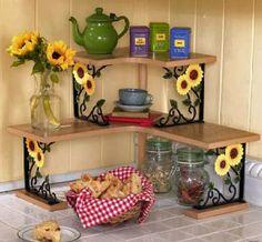 29 ideas for apartment kitchen themes ideas interior design Cheap Home Decor, Diy Home Decor, Sunflower Kitchen Decor, Diy Casa, Kitchen Decor Themes, Kitchen Ideas, Kitchen Design, Space Kitchen, Kitchen Stuff