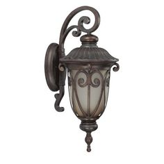 Nuvo Lighting 60/3922 Corniche Outdoor Large Wall Lantern Arm