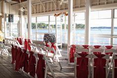 Waterside Deck Ceremony at the Lesner Inn