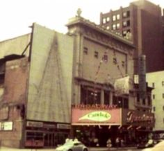 Broadway marquee Candide Broadway Theatre Sondheim