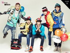 [Pics] B1A4 for 'Hats On (Fall/Winter)'