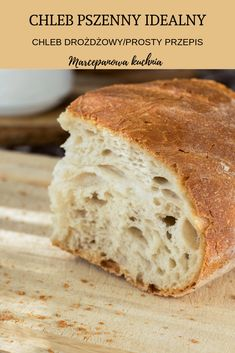 Recipe Fr, My Favorite Food, Favorite Recipes, Bakers Gonna Bake, Bread Bun, Polish Recipes, Comfort Food, Diy Food, Bread Baking
