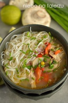 zupa zkurczakiem Soup Recipes, Whole Food Recipes, Diet Recipes, Cooking Recipes, Healthy Recipes, Clean Eating Meal Plan, Clean Eating Recipes, Healthy Eating, Nutrition Meal Plan