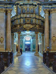 Brandenstein organ - Weltenburg Abbey, Weltenburg, Lower Bavaria, Germany   by Harald Nachtmann http://www.harald-nachtmann.de