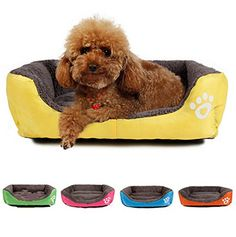 M Size Dog Cat Pet Puppy Kennels Beds Mat Houses Doghouse Warm Soft Pad Blanket ** You can find more details by visiting the image link. (This is an affiliate link and I receive a commission for the sales)