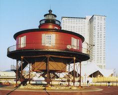 Seven Foot Knoll Lighthouse. Baltimore Maryland