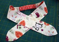 Ideas sewing patterns free baby girl fabrics for 2019 Sewing Headbands, Diy Baby Headbands, Fabric Headbands, Diy Headband, Baby Bows, Baby Headband Tutorial, Toddler Headbands, Headbands For Girls, Flower Headbands