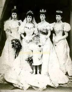 wedding of King Haakon & Queen Maud of Norway (nee Princess Maud of Wales)