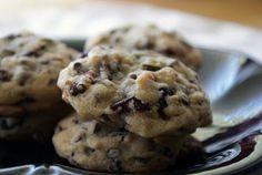 Pistachio Cherry Chocolate Chip Cookies