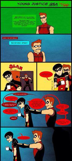 """Right batman?"""