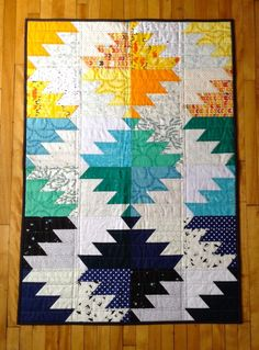 BUZZSAW BLOCK http://www.wendymeyen.com/quilts-for-sale/