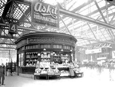 Central Station, Glasgow, 1936. by Jimmy1361, via Flickr