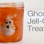 Handmade Halloween: Ghost Jell-O Treats... Owen will go nuts for these!