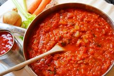 Really Good Homemade Tomato Sauce - Healthy, Tasty & Easy Recipes on a Budget - Gourmet Mum