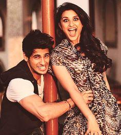 Parineeti Chopra and Sidharth Malhotra #Bollywood #Fashion
