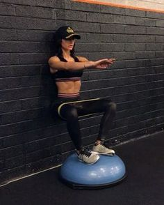"""19.6k Likes, 549 Comments - Alexia Clark (@alexia_clark) on Instagram: """"BOSU Burn All 4 together is a recipe for toasty leg burnout! Try 30seconds on each (30 each side…"""""""