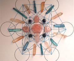 Reiki, Spirituality, and Crystal Healing: Star Gate Portal Crystal Grid