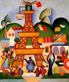 Artes do A'Uwe: Obras de Tarsila do Amaral