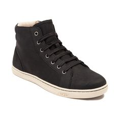 Step up your street-smart style with the new Gradie Casual Shoe from UGG®! The Gradie Casual Shoe combines streamlined sneaker style with signature UGG® boot influences, boasting smooth leather uppers, padded collar for premium comfort, and easy side zipper for hassle-free slip-on and off. <b>Available for shipment in August; Pre-order yours today!</b>  <br><br><u>Features include</u>:<br> > Smooth leather upper with breathable canvas lining<br> > Padded collar for support and comfort<br…