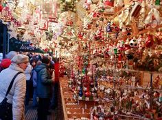 Châu Âu bắt đầu mở các khu chợ Giáng sinh