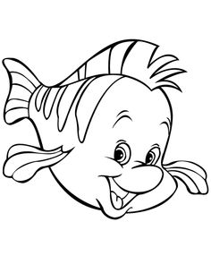 12 Bahan Mewarnai Gambar Ikan Yang Indah | WarnaGambar.com