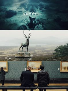 Skyfall collage
