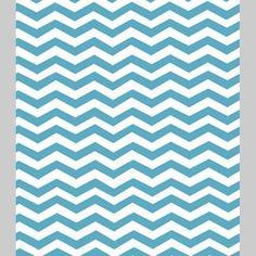Monaluna Organic Cotton Fabric - Chevron by Jennifer Moore -  1 Yard. $16.00, via Etsy.