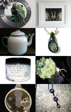 Hints of Green--Pinned with TreasuryPin.com