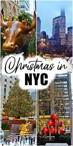 If I had to choose one city in the world to spend Christmas every single year, it would definitely be New York City. In this article I will show you a list of 10 things to see or do in the Big Apple #CHRISTMASNYC #christmas #newyork #winterinnewyork #nyc #nycchristmas #christmasinnewyork | christmas in new york | best things to do in new york at christmas | how to spend christmas in new york
