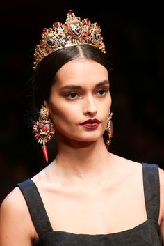 Dolce & Gabbana Spring 2015 Ready-to-Wear - Details - Gallery - Look 104 - Style.com