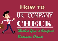 How to UK Company Check Makes You a Verified Business Owner Company Check, Uk Companies, Verify, Make It Yourself, Business, Store, Business Illustration