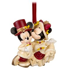 Minnie and Mickey Mouse Ornament | Ornaments | Disney Store