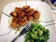 Honey Chicken.  Omit margarine (ick), use coconut oil or butter?