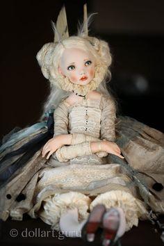 Angela. Art doll by Alisa Filippova