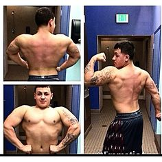 """When I started working out I was probably 150lbs at 5'9"""" my sole mission was to get BIG! Well here I was 220lbs the most I've ever weighed. Never have I taken steroids I chose to be natural because of all the accomplished gains I made naturally. I was shoving food down me at one point making sure my calorie intake was crazy. Still to this day I am natural and plan on remaining that way. Now I'm cutting and might compete next year!  #gains #fitlife #fitfam #gym #aesthetics #life #fitness…"""