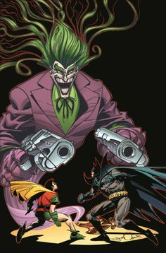 Joker vs. Batman & Robin by Walter Simonson