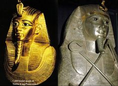 Pharaoh Psusennes I Was Buried In The Silver Coffin Decorated With Gold | Ancient Pages