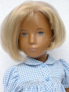 blue gingham Sasha doll