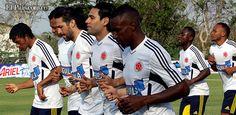 VEA las mejores imágenes correspondientes al tercer día de entrenamiento de la selección Colombia en Barranquilla, de cara al partido contra Bolivia del viernes 22 de marzo. Créditos: RAUL PALACIOS- Colprensa