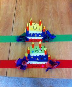 Verjaardagsmuts kleuters