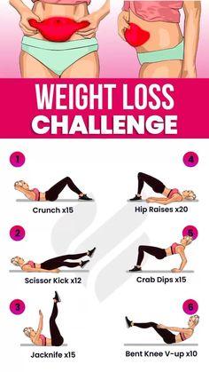 Full Body Gym Workout, Slim Waist Workout, Flat Belly Workout, Gym Workout Videos, Gym Workout For Beginners, Beginner Yoga Workout, Tummy Workout, Abs Workout Routines, Fat Workout