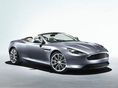 Sexiest Convertible;  Every vehicle produced by Aston Martin is a work of art; just ask James Bond - the sexiest secret agent in the world.