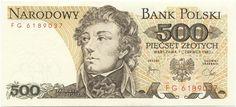 500 Zlotych 1982 (Kosciuszko) Polen Volksrepublik