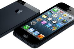 Black iPhone 5 Front and Back
