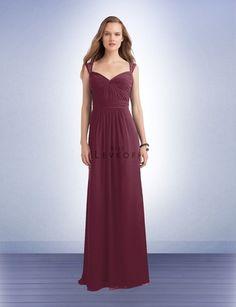 Bridesmaid Dress Style 1111 - Bridesmaid Dresses by Bill Levkoff: Wine