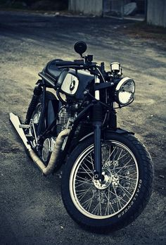 Vintage Honda Cafe Racer #motorcycles #caferacer #motos | caferacerpasion.com