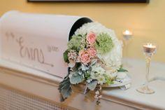 simple romantic wedding decorations | Amanda & Sean's Romantic Winter Wedding at Josephine Butler Parks Center | Images: Candice Adelle Photography