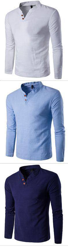 Men's Sports Casual/Daily Simple All Seasons T-shirt