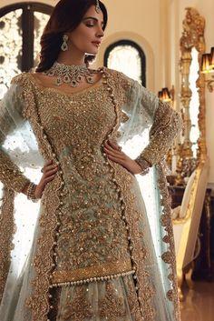 Asian Bridal Dresses, Desi Wedding Dresses, Asian Wedding Dress, Pakistani Formal Dresses, Indian Gowns Dresses, Pakistani Dress Design, Pakistani Bridal Lehenga, Pakistani Fashion Party Wear, Pakistani Wedding Outfits